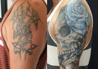 Coverup, tattoo